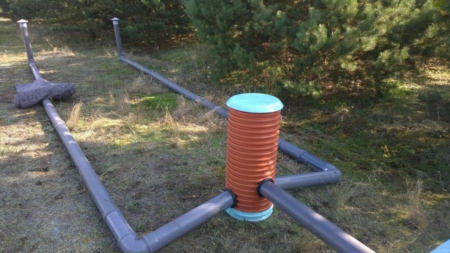 Ogromny Przydomowa oczyszczalnia ścieków - drenaż rozsączający | Sedyment XI81